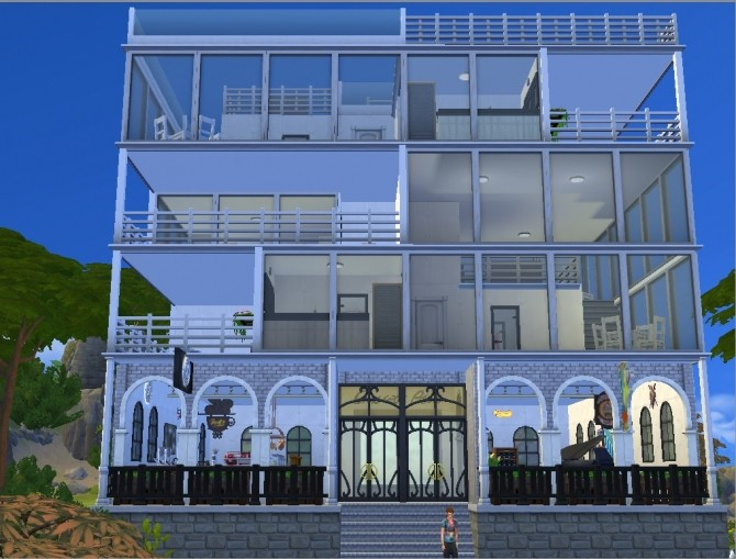 Cross view apt. No CC by whanghansong at Mod The Sims image 1639 670x509 Sims 4 Updates