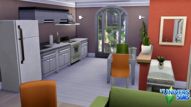 Sims 4 Georgina starter house by MatSims Créa at L'UniverSims