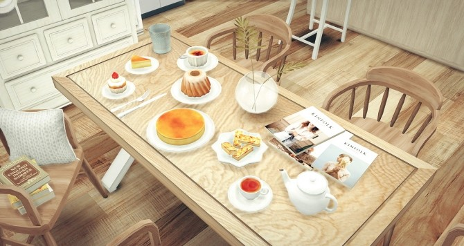 DESSERT SET A at Dominationkid image 1694 670x356 Sims 4 Updates
