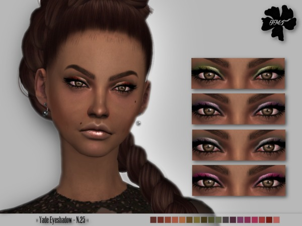 Sims 4 IMF Yade Eyeshadow N.25 by IzzieMcFire at TSR