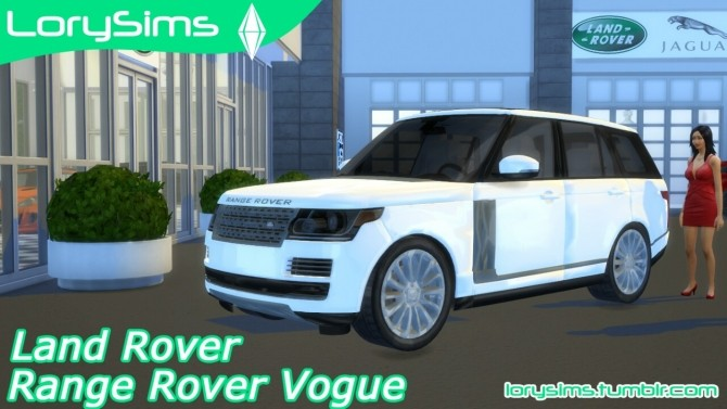 land rover range rover vogue at lorysims sims 4 updates. Black Bedroom Furniture Sets. Home Design Ideas