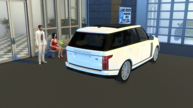 Land Rover Range Rover Vogue At Lorysims 187 Sims 4 Updates