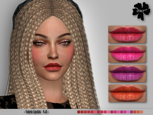 IMF Valerie Lipstick N.41 by IzzieMcFire at TSR image 1811 Sims 4 Updates