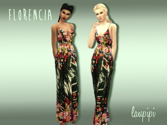 Florencia dress at Laupipi image 19210 Sims 4 Updates