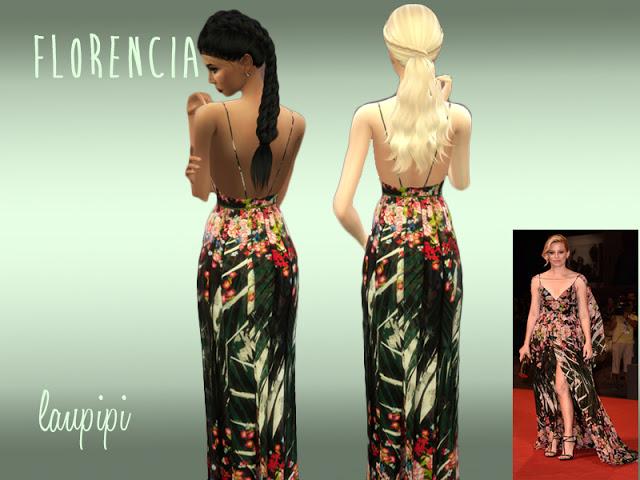 Florencia dress at Laupipi image 19310 Sims 4 Updates