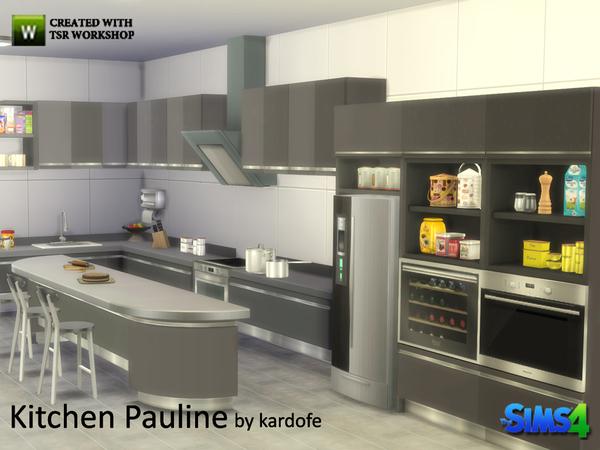 Pauline kitchen by kardofe at TSR image 1938 Sims 4 Updates