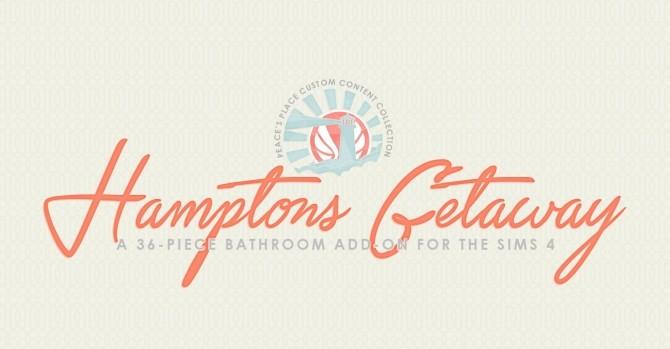 Hamptons Getaway Bathroom Addon at Simsational Designs image 1945 670x349 Sims 4 Updates