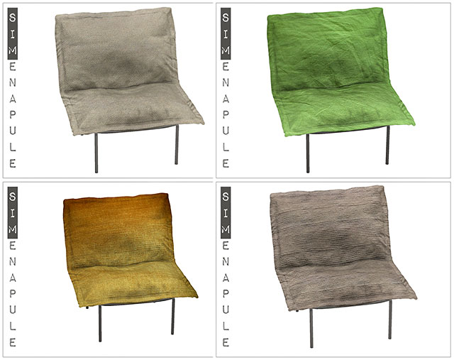 Sims 4 Sofia Chair Conversion at Simenapule
