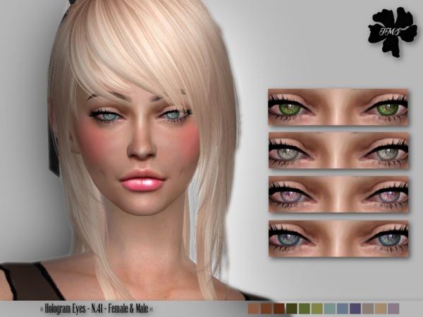 Sims 4 IMF Hologram Eyes N.41 F/M by IzzieMcFire at TSR