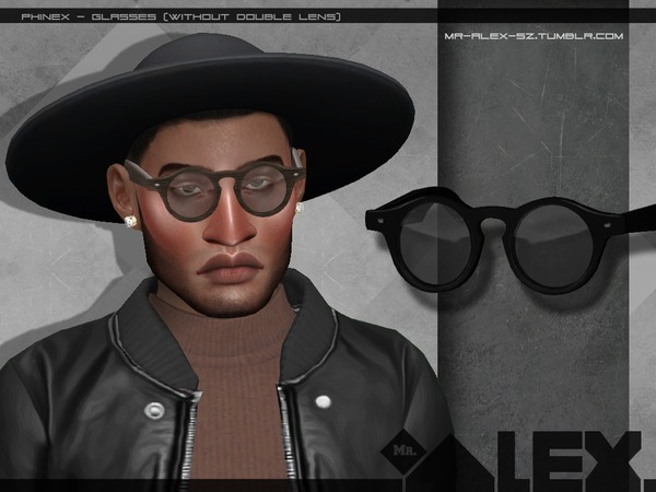 Phinex glasses by Mr.Alex at TSR image 2012 Sims 4 Updates