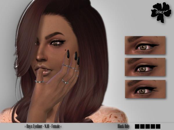 IMF Onyx Eyeliner N.10 by IzzieMcFire at TSR image 2028 Sims 4 Updates