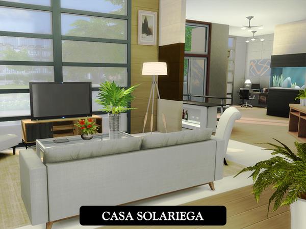 Sims 4 Casa Solariega by juniorferbelles at TSR