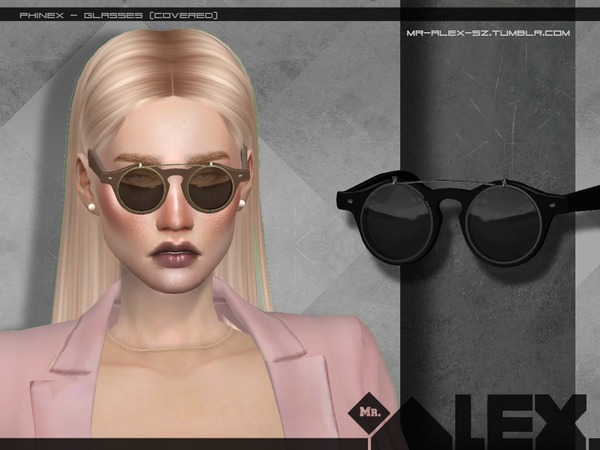 Phinex glasses by Mr.Alex at TSR image 2112 Sims 4 Updates