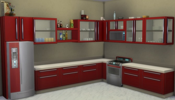Harbinger Cabinets Expansion by Madhox at Mod The Sims image 2115 670x383 Sims 4 Updates
