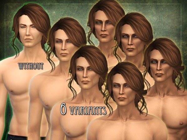 Sims 4 R skin 06 male overlay by RemusSirion at TSR