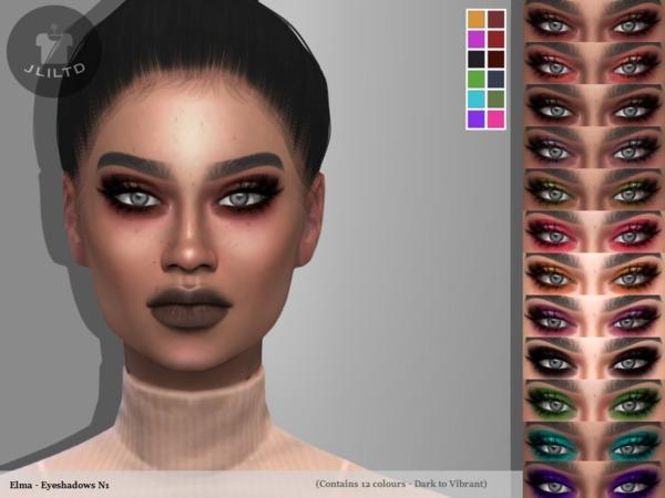 Sims 4 Elma Eyeshadows N1 by jliltd at TSR