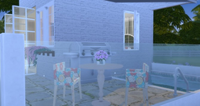 Sims 4 Girl Pink House 5x5 at Lily Sims