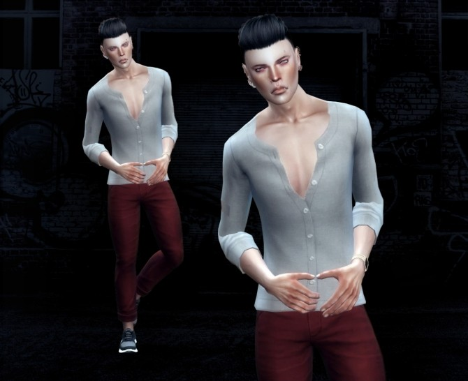 Male poses at Cloe Sims image 2233 670x546 Sims 4 Updates