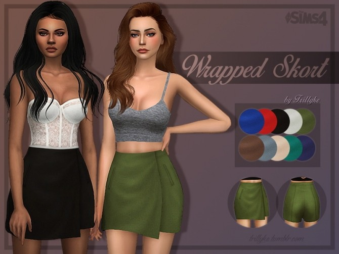 Wrapped Skirt at Trillyke image 2253 670x503 Sims 4 Updates