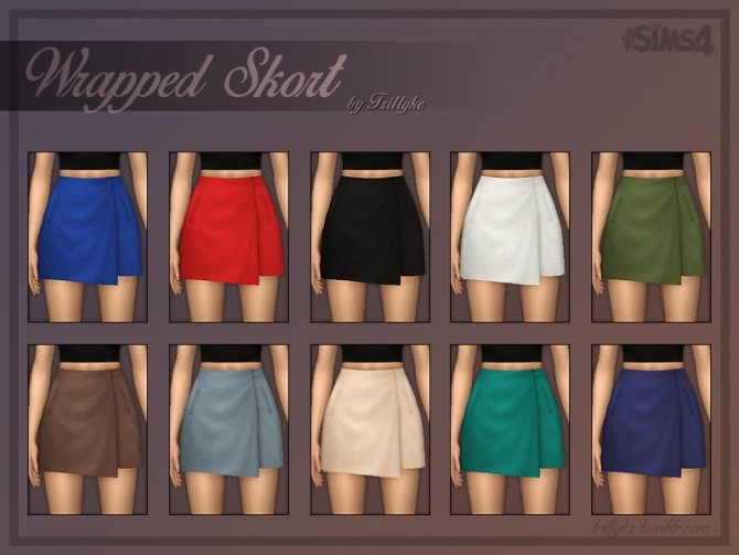 Wrapped Skirt at Trillyke image 2263 670x503 Sims 4 Updates
