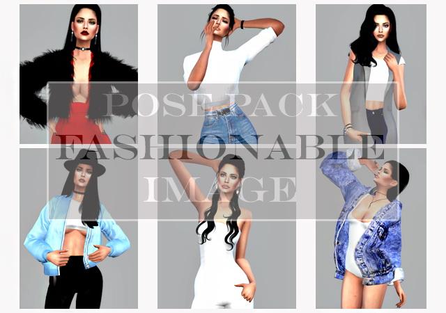 Pose Pack Fashionable image at Angissi image 2281 Sims 4 Updates
