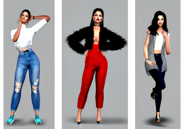 Pose Pack Fashionable image at Angissi image 2291 Sims 4 Updates
