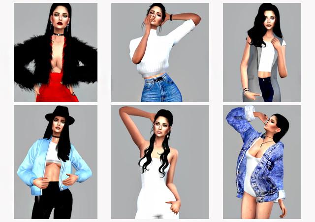 Pose Pack Fashionable image at Angissi image 2301 Sims 4 Updates