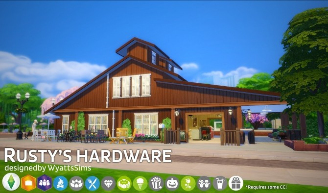 Rustys Hardware by WyattsSims at SimsWorkshop image 2315 670x394 Sims 4 Updates