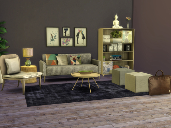 My first apartment set by nikadema at tsr sims 4 updates for Furniture for first apartment
