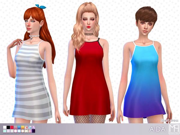 Sims 4 manueaPinny Aida set by nueajaa at TSR
