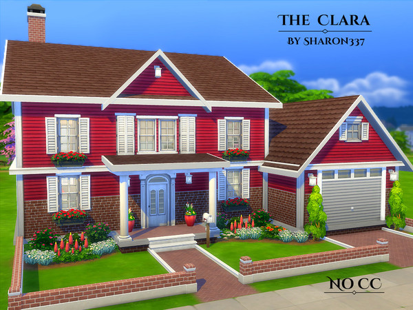 The clara house by sharon337 at tsr sims 4 updates for Clara house