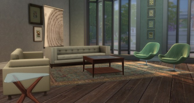 Topographical Wallpaper at Baufive – b5Studio image 2501 670x355 Sims 4 Updates