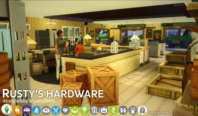 Rustys Hardware by WyattsSims at SimsWorkshop image 2513 670x394 Sims 4 Updates