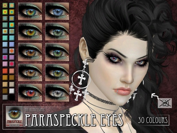 Sims 4 Paraspeckle Eyes by RemusSirion at TSR