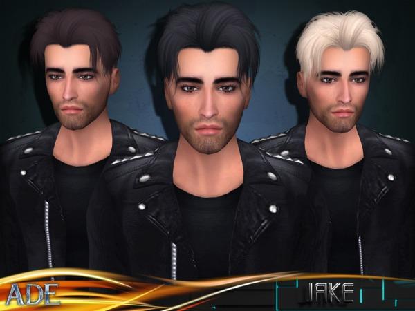 Sims 4 Jake hair by Ade Darma at TSR