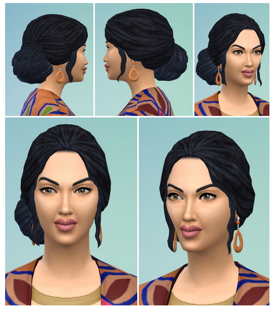Sims 4 Noisy & Sloping Dreads at Birksches Sims Blog