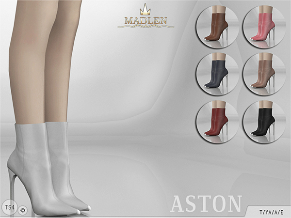 Madlen Aston Boots by MJ95 at TSR image 2619 Sims 4 Updates