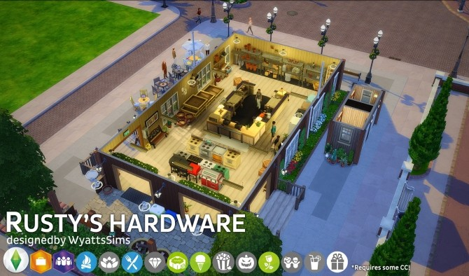 Rustys Hardware by WyattsSims at SimsWorkshop image 2714 670x394 Sims 4 Updates