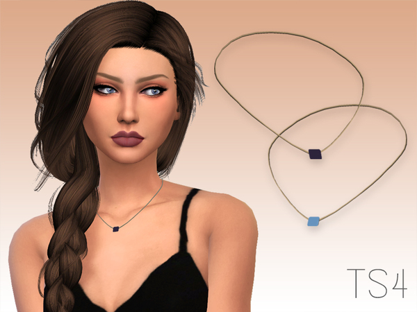 Sims 4 Wales Necklace by GrafitySims at TSR