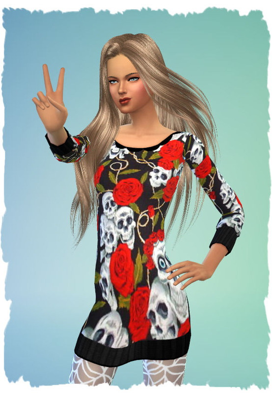 3 Halloween dresses by Chalipo at All 4 Sims image 279 Sims 4 Updates
