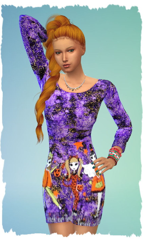 3 Halloween dresses by Chalipo at All 4 Sims image 280 Sims 4 Updates
