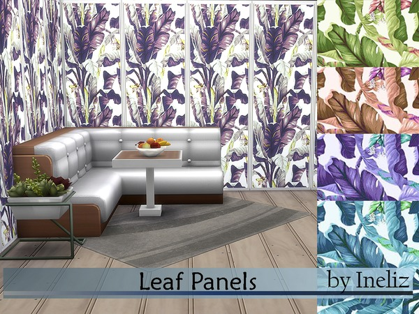 Leaf Panels by Ineliz at TSR image 2829 Sims 4 Updates