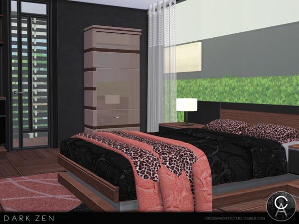 Dark Zen house by Pralinesims at TSR image 2913 Sims 4 Updates