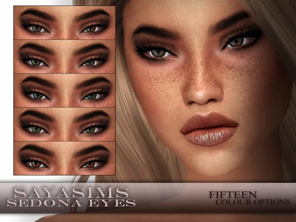 Sims 4 Sedona Eyes by SayaSims at TSR