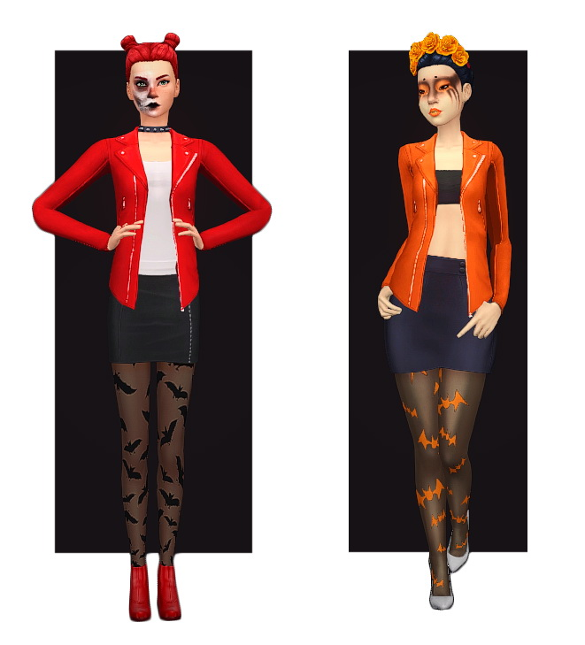 Sims 4 Spine Chilling Jacket at Teanmoon