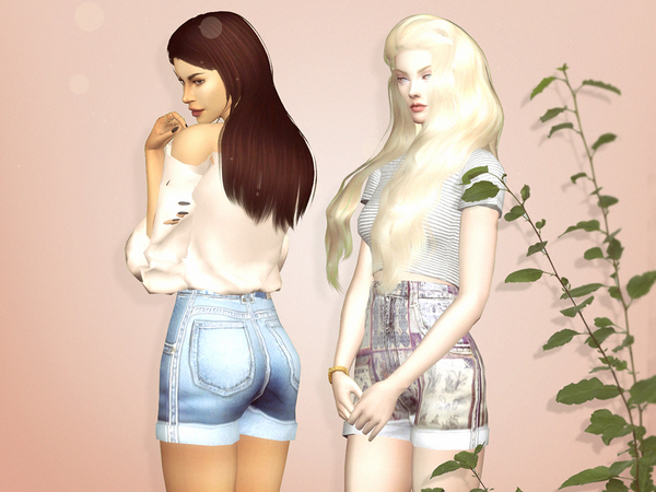 Reckless Shorts by serenity cc at TSR image 30 Sims 4 Updates
