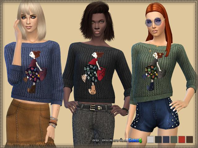 Fashionista Sweater at Bukovka image 3024 Sims 4 Updates