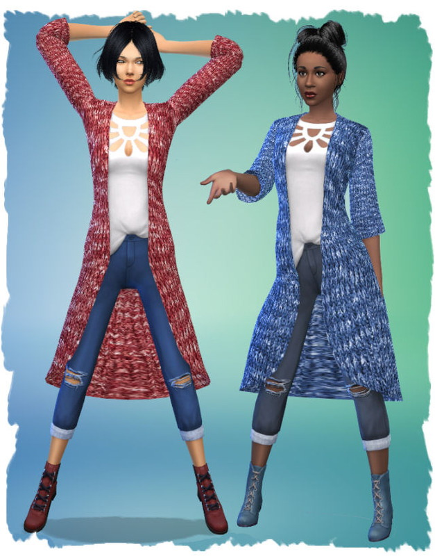 City Jackenoutfit by Chalipo at All 4 Sims image 3061 Sims 4 Updates