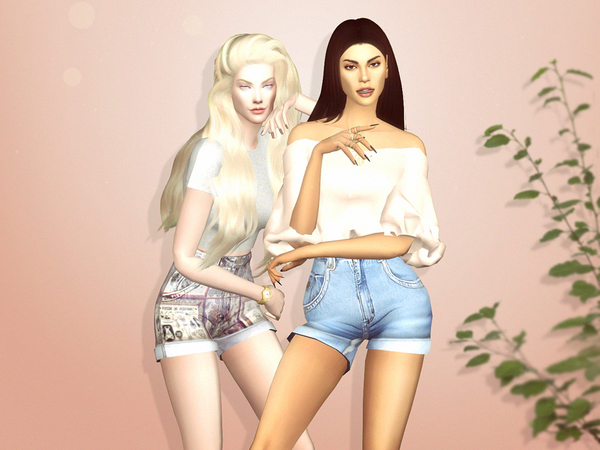 Reckless Shorts by serenity cc at TSR image 31 Sims 4 Updates