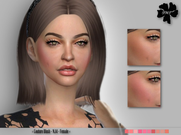 Sims 4 IMF Couture Blush N.14 by IzzieMcFire at TSR
